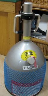 液体窒素のタンク
