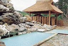 温泉で温まるイメージ